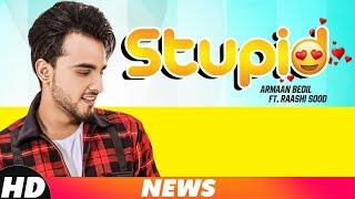 News | Stupid | Armaan Bedil Ft. Raashi Sood | Tru Makers | Coming Soon | Speed Records