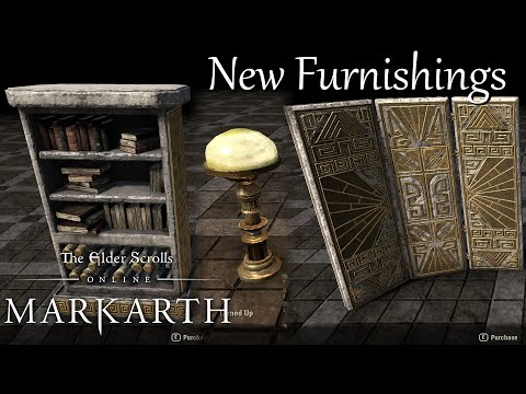 New Furnishings | ESO Markarth DLC