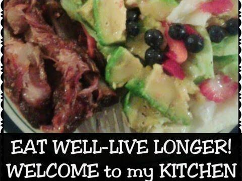 RIBS & SALAD MIX || Organic Foods-Healthy Eating!