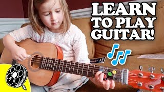 Kids INSTANTLY Learn Guitar! 🎸