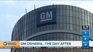 Day after GM plant closures announcement, and other top business news