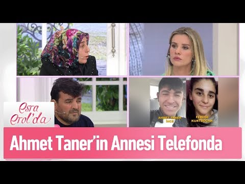 Ahmet Tanerin annesi telefonda - Esra Erol'da 20 Şubat 2019