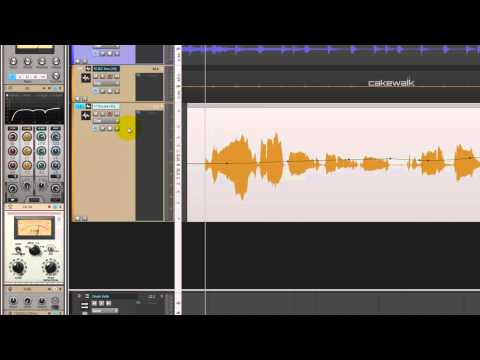 How to use Compression on Vocals in SONAR X3 (5 of 7)