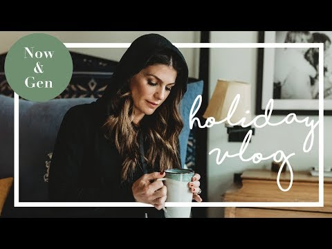 MY HOLIDAY VLOG  GENEVIEVE PADALECKI