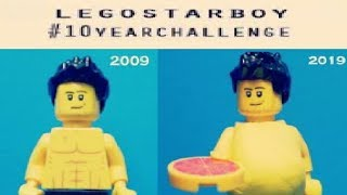 #LEGO 10 year challenge - LEGO Starboy short comedy