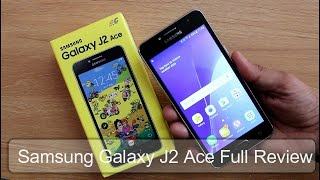 Samsung Galaxy J2 Ace Full Review II Pros & Cons II Hindi