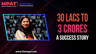 30 Lacs To 3 Crores | Vice President At JP Morgan To A Full Time Trader | MPAT Success Story