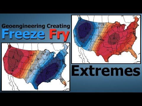 Geoengineering Creating Freeze Fry Extremes ( Dane Wigington GeoengineeringWatch.org )