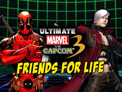 DEADPOOL & DANTE, FRIENDS 4 LIFE: Ultimate Marvel Vs. Capcom 3 - Online Matches
