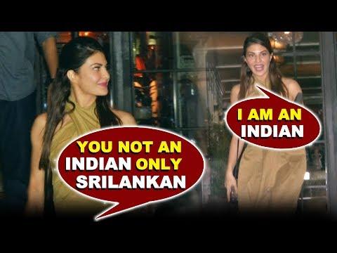 मीडिया ने किया Jacqueline Fernandez का Insult   आप Indian नहीं हो Srilankan हो