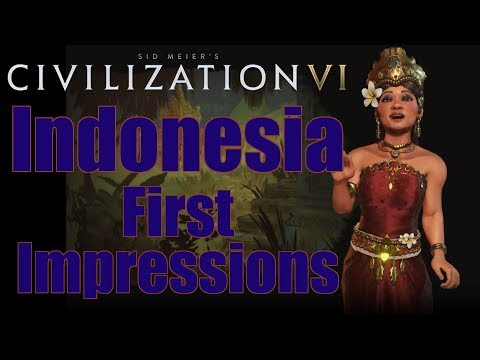 Civilization 6: First Impressions - Indonesia Civilization