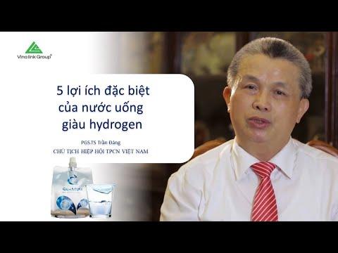 5 lợi ích đặc biệt của Nước khoáng ion kiềm giàu hydrogen