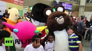 Brazil: See all your favourite Olympic mascots meet for the first time
