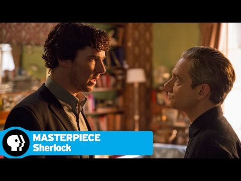 SHERLOCK on MASTERPIECE | Season 4: Why John Blames Sherlock | PBS