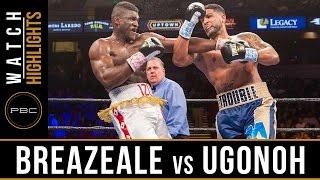 Breazeale vs Ugonoh HIGHLIGHTS: February 25, 2017 - PBC on FOX