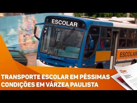 Transporte escolar em péssimas condições em Várzea Paulista - TV SOROCABA/SBT