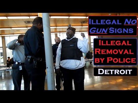"We Ignore ""No Gun"" Signs, so Police Ignore the Law"