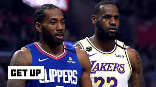 Lakers vs. Clippers Highlights & Reaction | Get Up