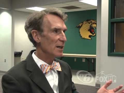 Raw interview with Bill Nye The Science Guy