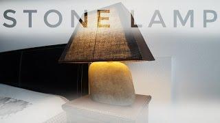 Stone Lamp.DIY