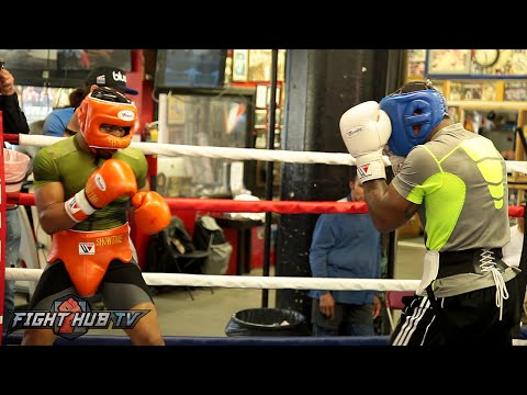Watch Shawn Porter's tough sparring ahead of his Thurman vs. Porter fight