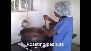 Making RUTF in Cap Haitien, Haiti