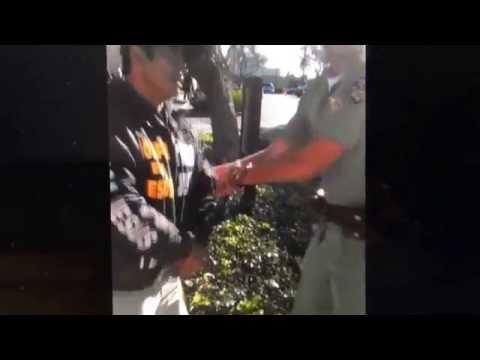 Street Preacher Arrested California