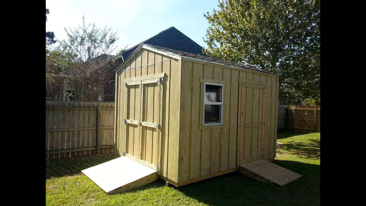 10x12 Gable Shed Shed Plans Stout Sheds Llc