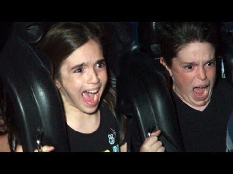WHO HAS THE BEST ROLLER COASTER FACE?