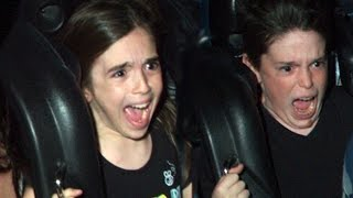 WHO HAS THE BEST ROLLER COASTER FACE? thumbnail