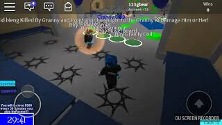 NEW! Granny game (roblox)