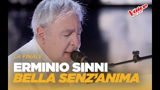 "Erminio Sinni ""Bella senz'anima"" – Finale – The Voice Senior"