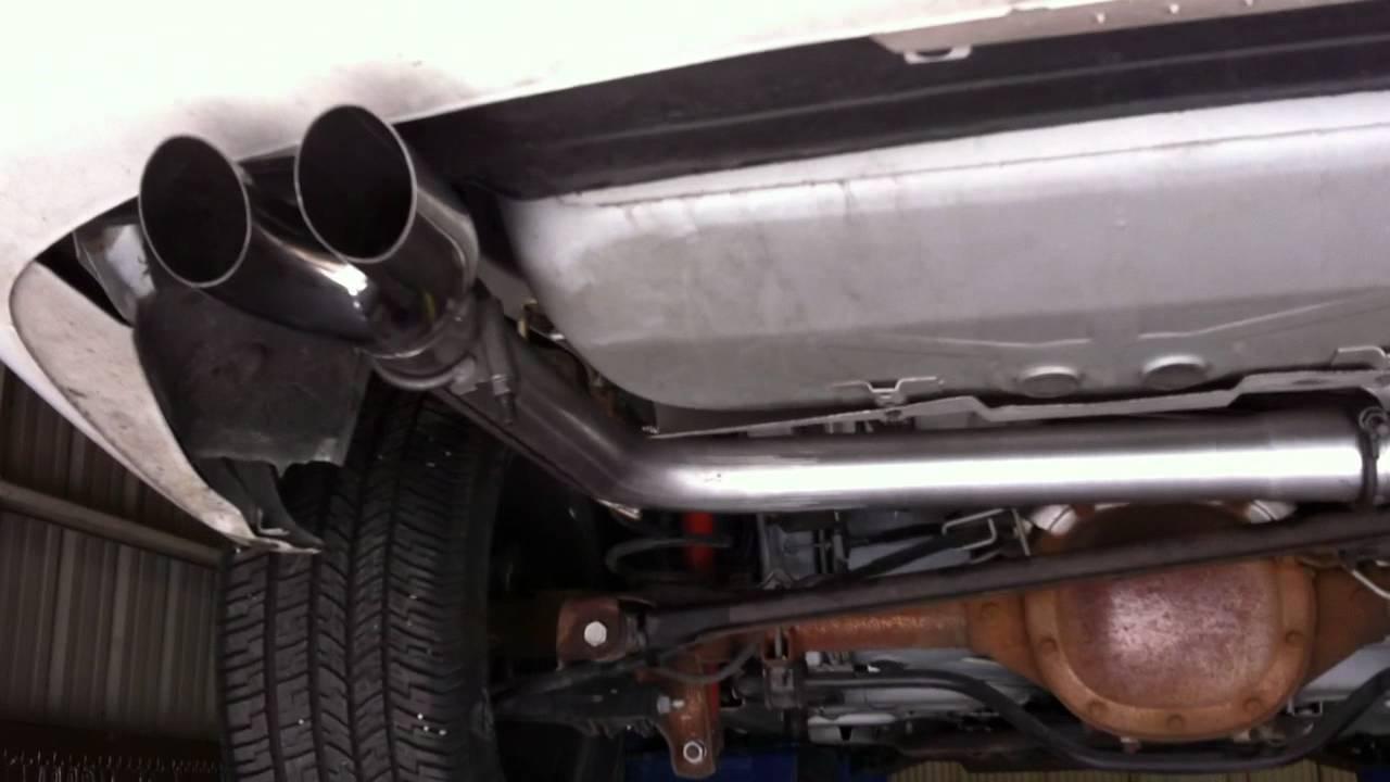 Slp Loudmouth 1 Installed 2002 Z28 Camaro Under Car View