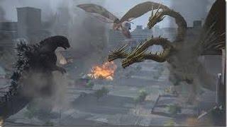 Godzilla ps4 classic movie double threat battles part 2