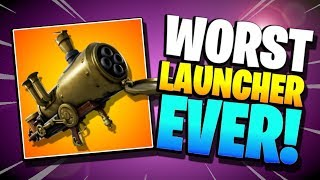 I REALLY WANTED TO LOVE IT | Cannonade Launcher in Fortnite Save the World