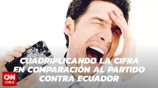 Triste récord: hinchas rompieron más de 8 mil celulares por Chile