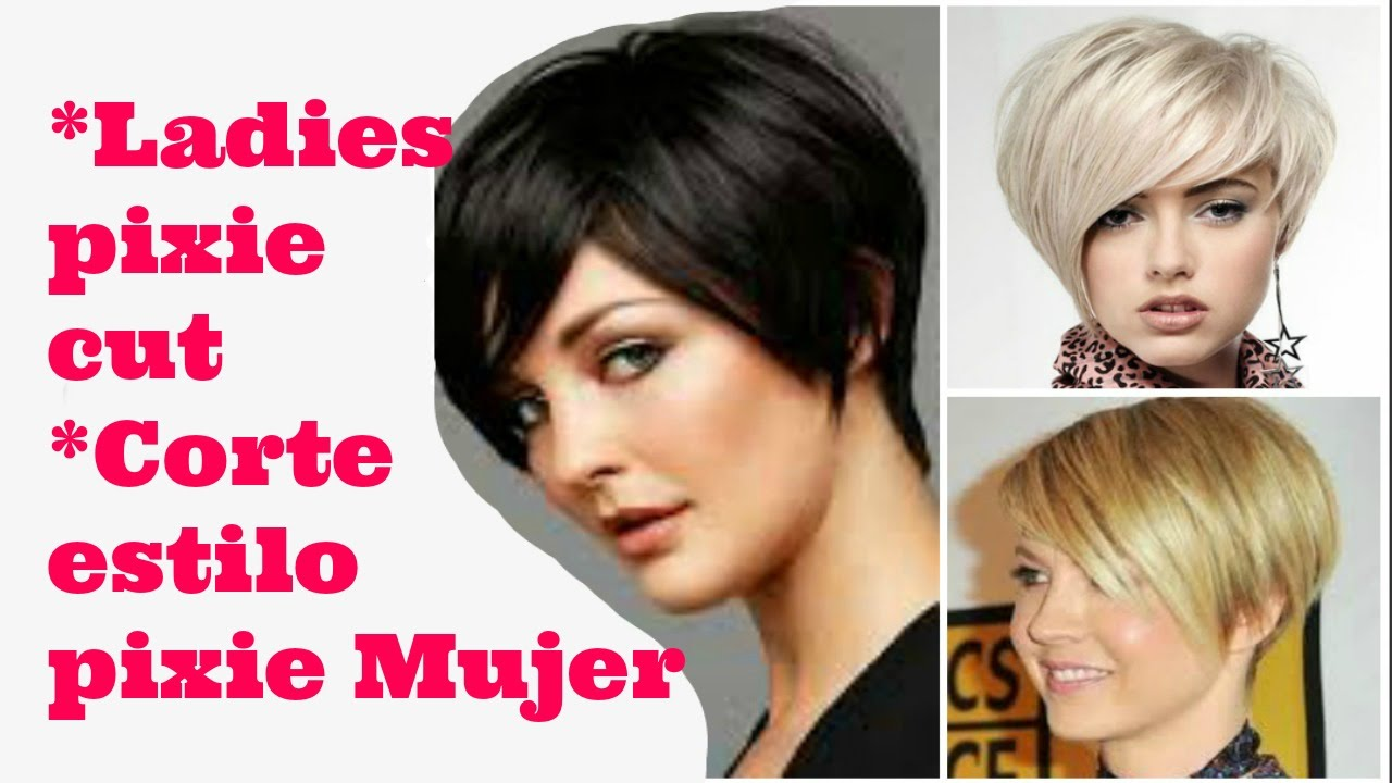 CORTE DE PELO PIXIE PARA MUJER   PIXIE HAIRCUT FOR LADIES - YouTube 83cdd4fe5994