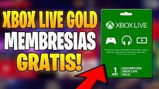 PARTICIPA MEMBRESIAS XBOX LIVE GOLD GRATIS SORTEO 🏆