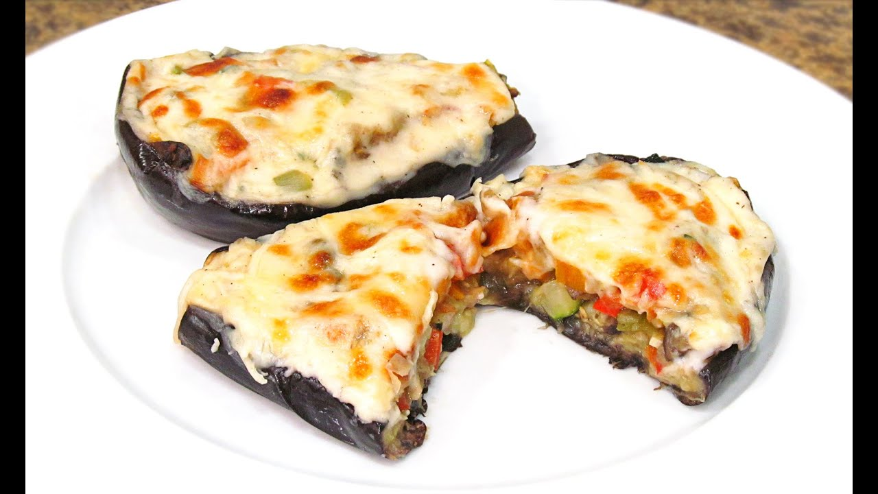 C mo hacer berenjenas rellenas de verduras receta f cil for Cocina berenjenas rellenas