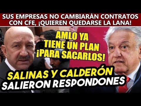 Empresas de Salinas y Calderón no cambiarán acuerdos con CFE. Obrador tiene plan para sacarlos