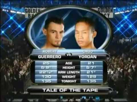 Daud Yordan vs Robert Guerrero