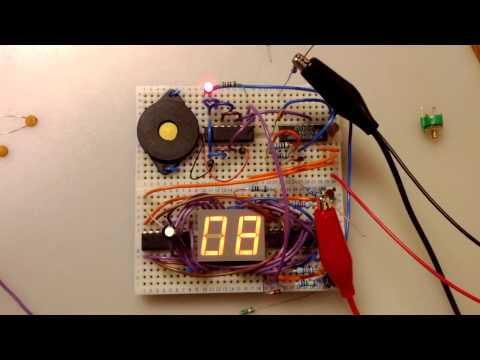 Quartz Crystal Oscillator Clock