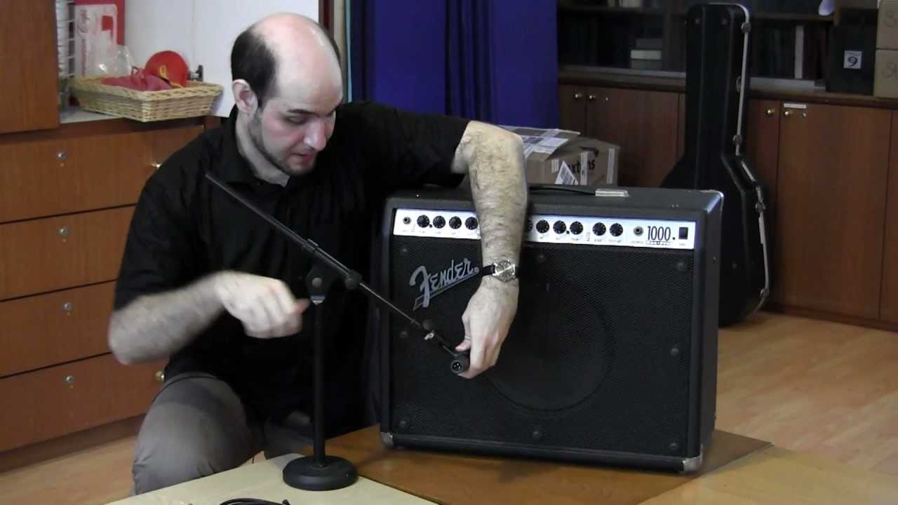 How To Connect An Electric Guitar And Amplifier The Pa System Amplified Bazooka Tube Wiring Diagram