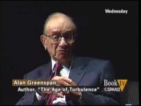 Alan Greenspan on Income Inequality