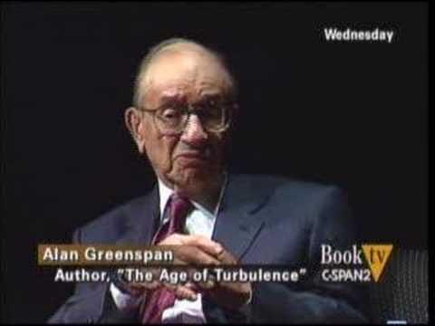 Alan Greenspan on Income Inequality