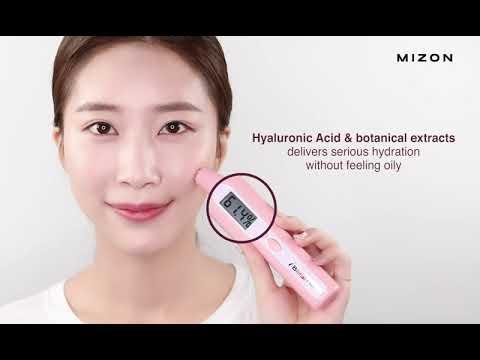 【韓國MIZON】全效蝸牛精華凝膠霜45ml | 使用示範