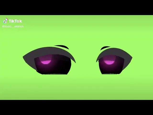 Tiktok Gacha Life Eyes Green Screen Trend Rana Gacha Youtube