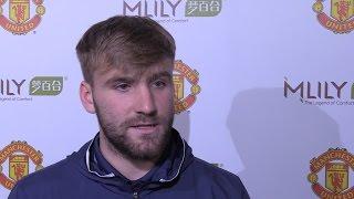 luke shaw on schweinsteiger s return bryan robson interview manchester united sponsorship event