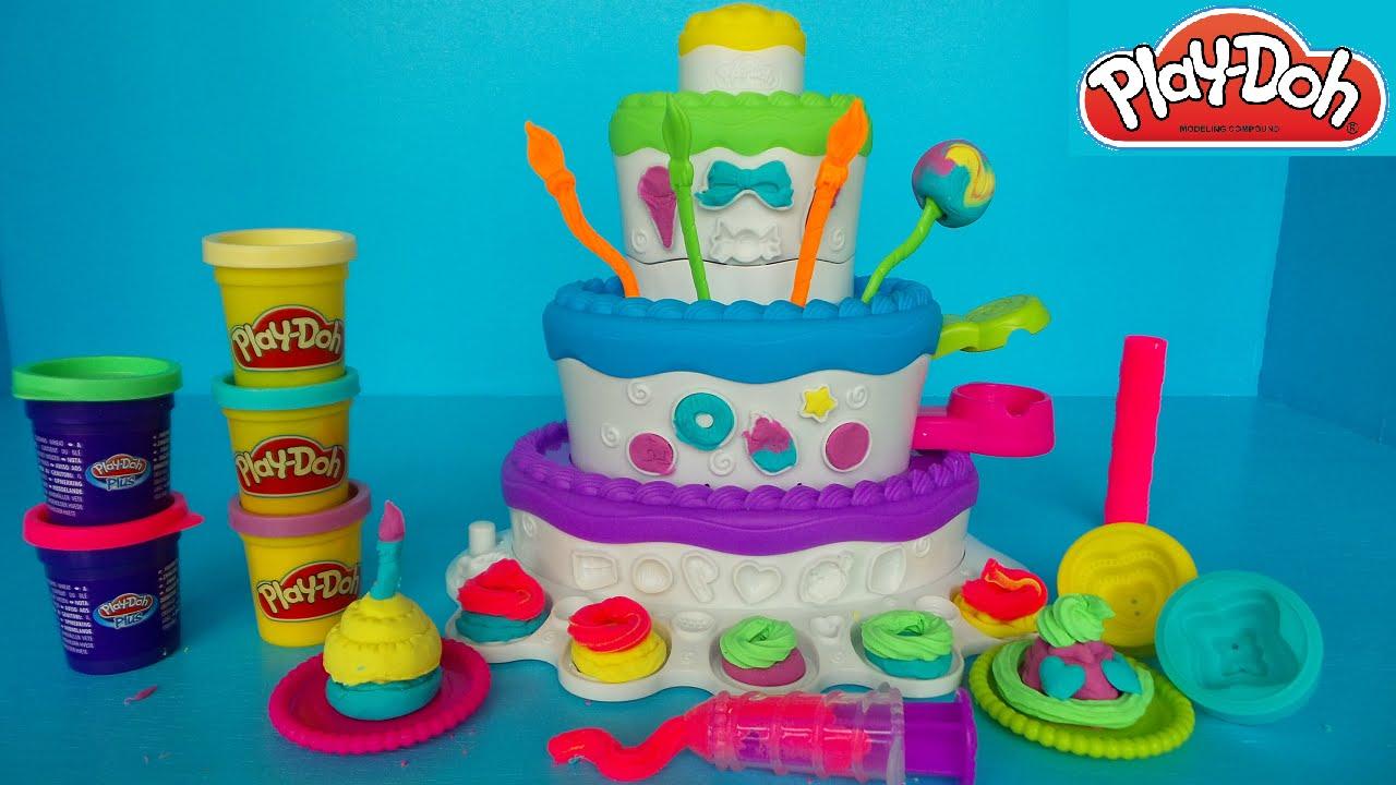 How To Make A Playdoh Cake