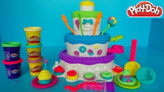 PLAY-DOH TAART CAKE MOUNTAIN | SPEELGOED REVIEW